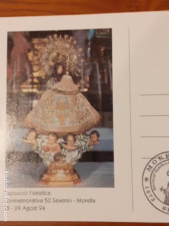 Sellos: Postal con matasellos 50 Sexeni de Morella 1994 - Foto 2 - 191890276