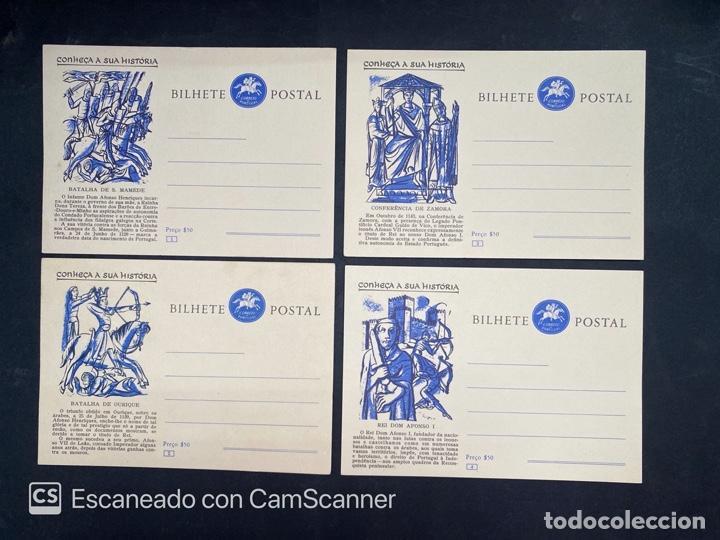 Sellos: PORTUGAL. ENTERO POSTAL. CONHEÇA A SUA HISTORIA. SERIE COMPLETA. DEL 1 AL 20. - Foto 2 - 204747518