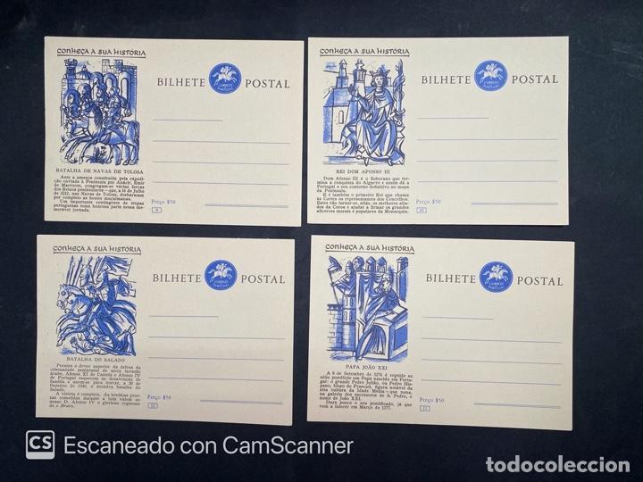 Sellos: PORTUGAL. ENTERO POSTAL. CONHEÇA A SUA HISTORIA. SERIE COMPLETA. DEL 1 AL 20. - Foto 4 - 204747518