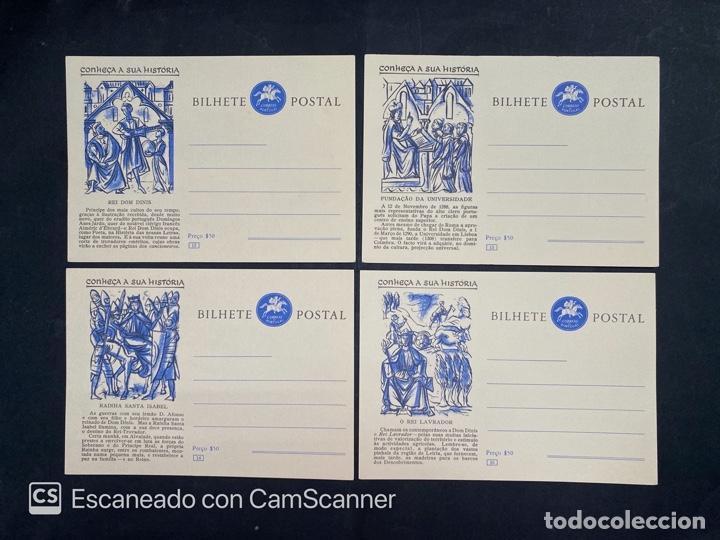 Sellos: PORTUGAL. ENTERO POSTAL. CONHEÇA A SUA HISTORIA. SERIE COMPLETA. DEL 1 AL 20. - Foto 5 - 204747518