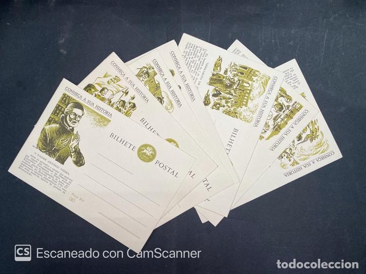 PORTUGAL. ENTERO POSTAL. CONHEÇA A SUA HISTORIA. DEL 53 AL 66.COMPLETA (Sellos - Extranjero - Entero postales)