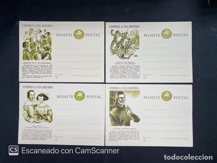 Sellos: PORTUGAL. ENTERO POSTAL. CONHEÇA A SUA HISTORIA. DEL 53 AL 66.COMPLETA - Foto 2 - 204748173