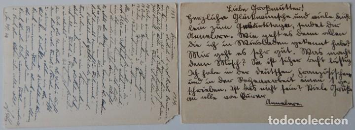 Sellos: Nazismo / 5 Enteros postales iguales Alemania 1933 - Deutschland, Deutschland über alles! 30.1.1933 - Foto 5 - 204828853