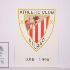 Sellos: TARJETA DEL CORREO:ATHLETIC CLUB BILBAO 1898-1998 TARIFA NACIONAL Nº 70-1,SIN CIRCULAR. Lote 218572815