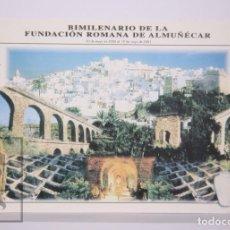 Sellos: TARJETA DEL CORREO:BIMILENARIO DE LA FUNDACION ROMANA DE ALMUNÉCAR Nº 18-3 - CONSTITUCIÓN - S/C. Lote 218578392