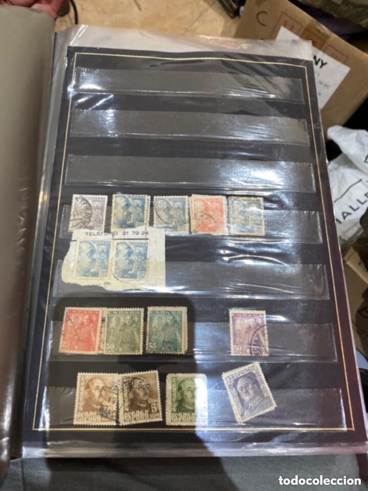 Sellos: Álbum de sellos antiguos. Ver todas las fotos - Foto 3 - 224167633