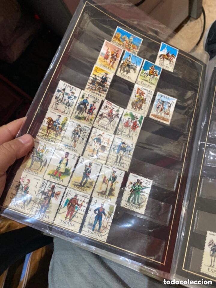 Sellos: Álbum de sellos antiguos. Ver todas las fotos - Foto 4 - 224167633