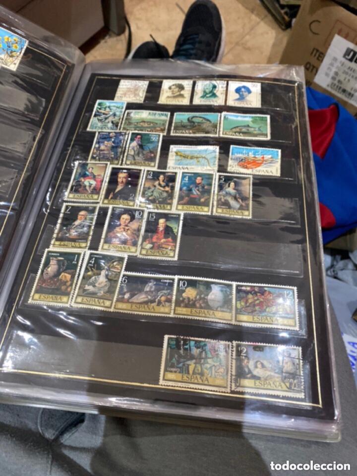 Sellos: Álbum de sellos antiguos. Ver todas las fotos - Foto 6 - 224167633