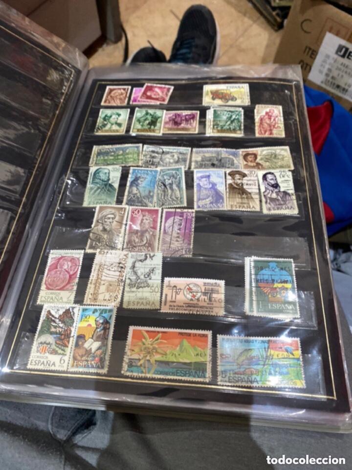 Sellos: Álbum de sellos antiguos. Ver todas las fotos - Foto 7 - 224167633