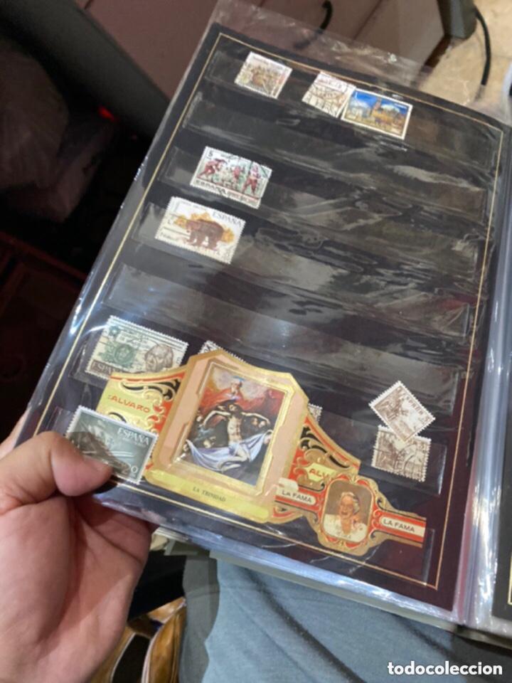 Sellos: Álbum de sellos antiguos. Ver todas las fotos - Foto 8 - 224167633