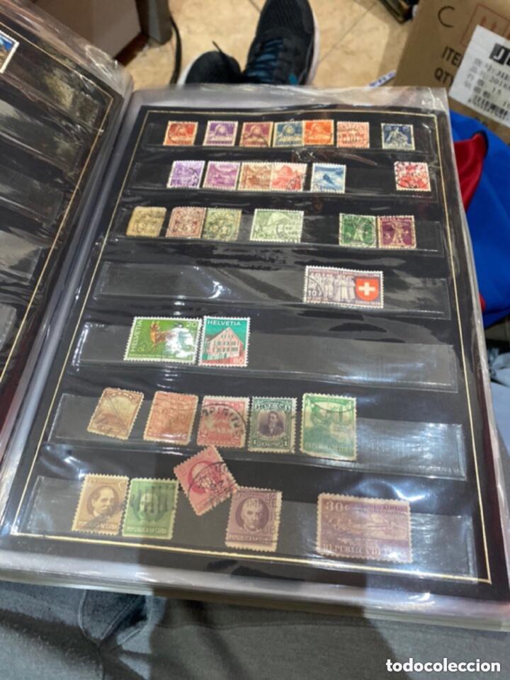 Sellos: Álbum de sellos antiguos. Ver todas las fotos - Foto 9 - 224167633