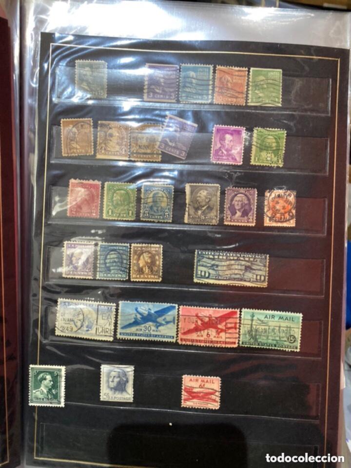 Sellos: Álbum de sellos antiguos. Ver todas las fotos - Foto 10 - 224167633