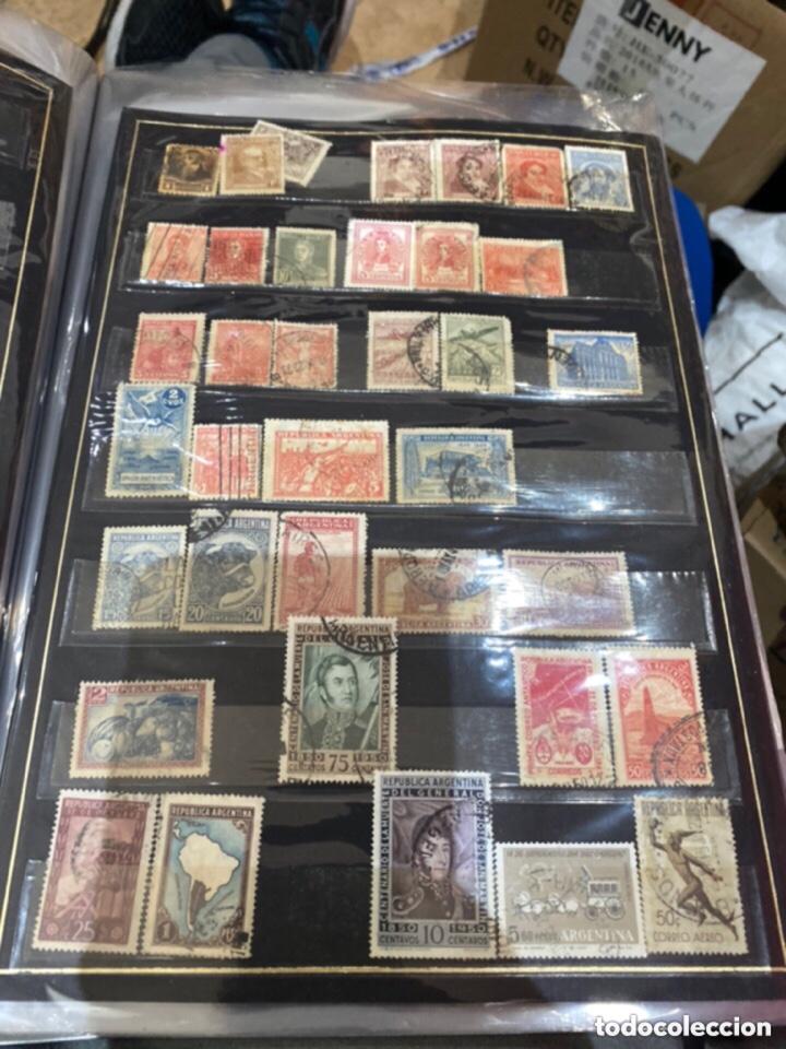 Sellos: Álbum de sellos antiguos. Ver todas las fotos - Foto 13 - 224167633