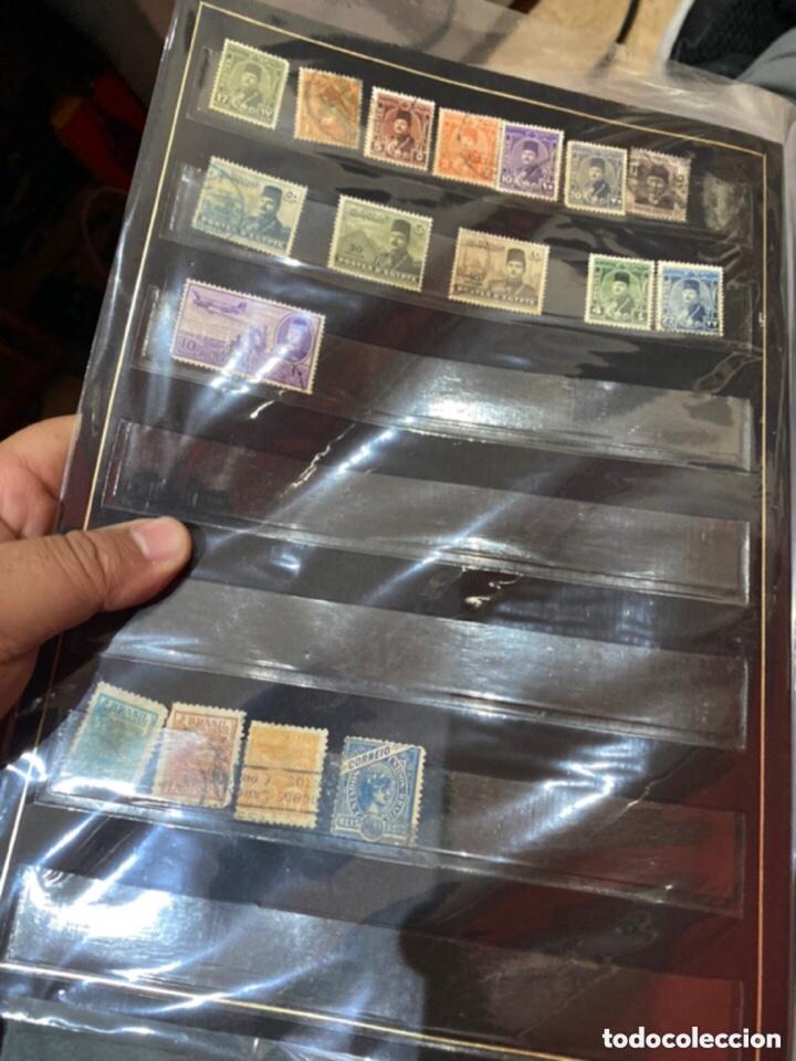 Sellos: Álbum de sellos antiguos. Ver todas las fotos - Foto 14 - 224167633