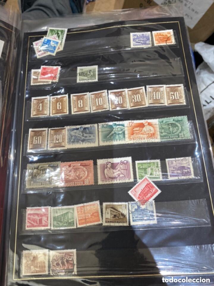 Sellos: Álbum de sellos antiguos. Ver todas las fotos - Foto 16 - 224167633