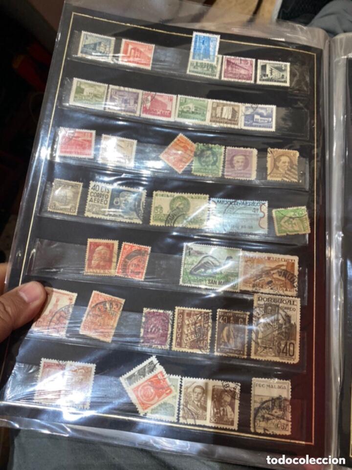 Sellos: Álbum de sellos antiguos. Ver todas las fotos - Foto 17 - 224167633