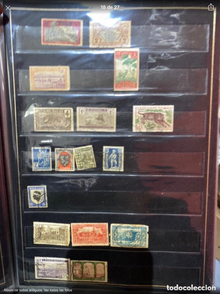 Sellos: Álbum de sellos antiguos. Ver todas las fotos - Foto 18 - 224167633