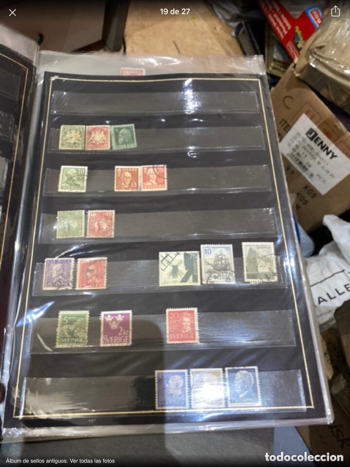 Sellos: Álbum de sellos antiguos. Ver todas las fotos - Foto 19 - 224167633