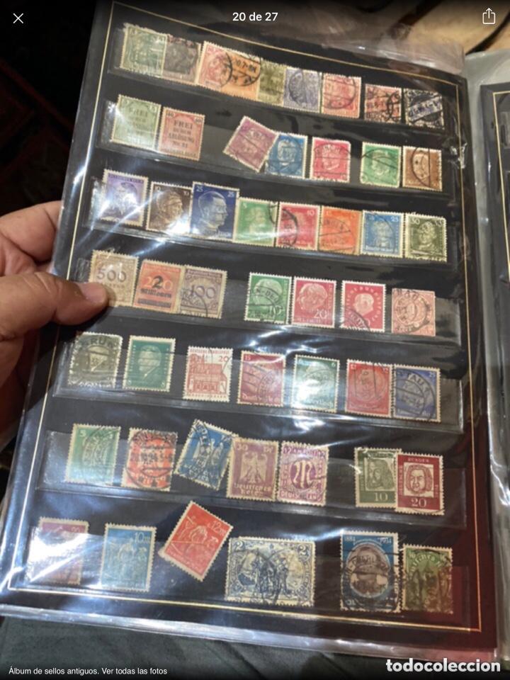 Sellos: Álbum de sellos antiguos. Ver todas las fotos - Foto 20 - 224167633