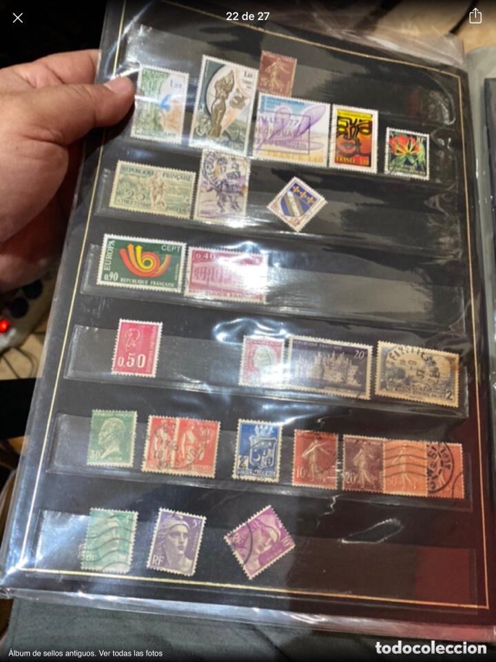 Sellos: Álbum de sellos antiguos. Ver todas las fotos - Foto 22 - 224167633