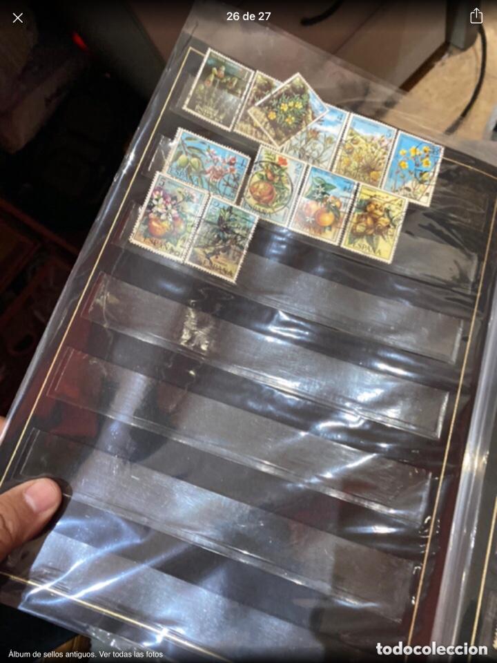 Sellos: Álbum de sellos antiguos. Ver todas las fotos - Foto 26 - 224167633