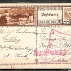 Sellos: AUSTRIA. ENTERO POSTAL ILUSTRADO. VORARLBERG. Lote 224218651