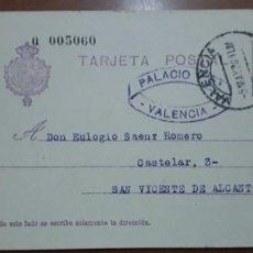 Sellos: SELLOS ESPAÑA 1925 TARJETAS POSTALES NUMERO 57 CIRCULADA. Lote 236190880