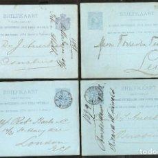 Sellos: HOLANDA.1891.-1899. LOTE ENTEROS POSTALES. Lote 237124195