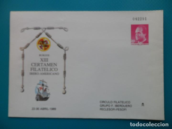 1987-ESPAÑA-ENTEROS POSTALES-PREFRANQUEADAS-NUEVOS SIN USAR-Nº-12 (Sellos - Extranjero - Entero postales)