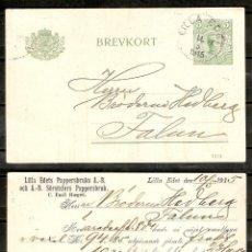 Sellos: SUECIA.1915. ENTERO POSTAL . LILLA EDET. Lote 250322615