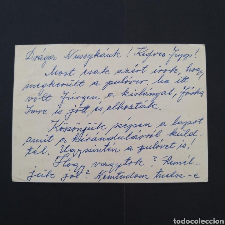Sellos: Tarjeta antigua entero postal Hungría dos sellos sin matasellos EP017 - Foto 2 - 253327535