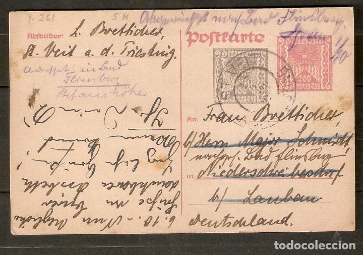 AUSTRIA. ENTERO POSTAL.P 261 ST. VEIT (Sellos - Extranjero - Entero postales)