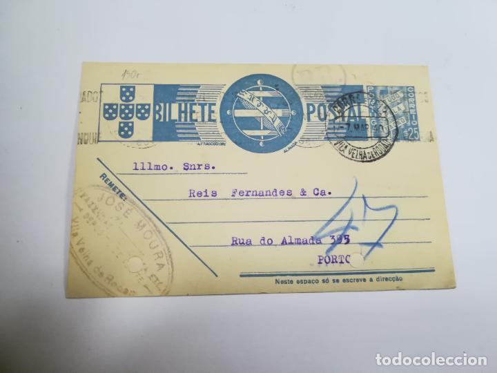 ENTERO POSTAL. PORTUGAL. 25 CÉNTIMOS. ESCRITA Y CIRCULADA. VER (Sellos - Extranjero - Entero postales)