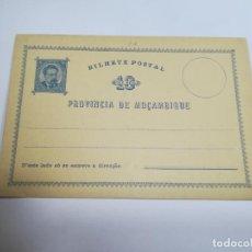 Sellos: ENTERO POSTAL. REPÚBLICA PORTUGUESA. MOZAMBIQUE. 10 REIS. VER. Lote 262676945