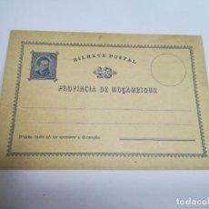 Sellos: ENTERO POSTAL. REPÚBLICA PORTUGUESA. MOZAMBIQUE. 10 REIS. VER. Lote 262676960