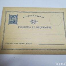 Sellos: ENTERO POSTAL. REPÚBLICA PORTUGUESA. MOZAMBIQUE. 10 REIS. VER. Lote 262677180
