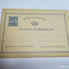 Sellos: ENTERO POSTAL. REPÚBLICA PORTUGUESA. MOZAMBIQUE. 10 REIS. VER. Lote 262677265