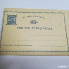 Sellos: ENTERO POSTAL. REPÚBLICA PORTUGUESA. MOZAMBIQUE. 10 REIS. VER. Lote 262677360