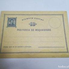 Sellos: ENTERO POSTAL. REPÚBLICA PORTUGUESA. MOZAMBIQUE. 10 REIS. VER. Lote 262677480