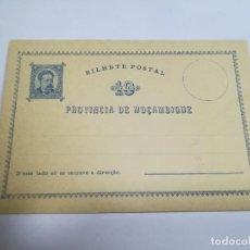 Sellos: ENTERO POSTAL. REPÚBLICA PORTUGUESA. MOZAMBIQUE. 10 REIS. VER. Lote 262677515