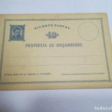 Sellos: ENTERO POSTAL. REPÚBLICA PORTUGUESA. MOZAMBIQUE. 10 REIS. VER. Lote 262677570