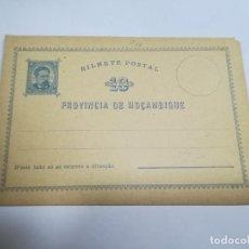 Sellos: ENTERO POSTAL. REPÚBLICA PORTUGUESA. MOZAMBIQUE. 10 REIS. VER. Lote 262677595