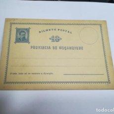 Sellos: ENTERO POSTAL. REPÚBLICA PORTUGUESA. MOZAMBIQUE. 10 REIS. VER. Lote 262677630