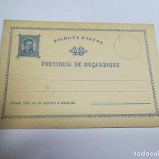 Sellos: ENTERO POSTAL. REPÚBLICA PORTUGUESA. MOZAMBIQUE. 10 REIS. VER. Lote 262677690