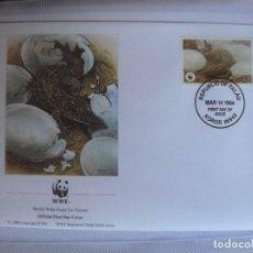 Sellos: SOBRE PRIMER DIA DE PALAU 1994 COCODRILO. Lote 276503778