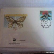 Sellos: SOBRE PRIMER DIA DE PAPUA NEW GUINEA 1988 MARIPOSAS. Lote 276515968