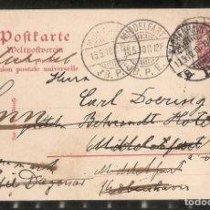 Sellos: ALEMANIA IMPERIO. 1910. ENTERO POSTAL. MIDDELFART. Lote 286302138