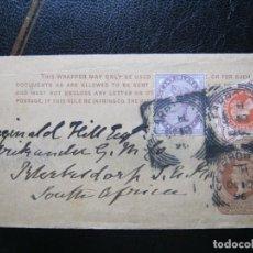 Sellos: GRAN BRETAÑA INGLATERRA ENTERO POSTAL A SOUTH AFRICA!!!. Lote 287115443