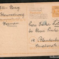 Sellos: ZONA ANGLO-AMERICANA.1945. ENTERO POSTAL P905. Lote 289418648