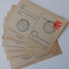Sellos: 6 ENTEROS 1948 ALEMANIA MATASELLOS CONMEMORATIVOS / EUROPA-BUND 8.3.48 - LANDESTAG NIEDERSACHSEN. Lote 292375593